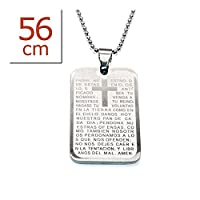 Surgical Steel Pendant Tag Necklace
