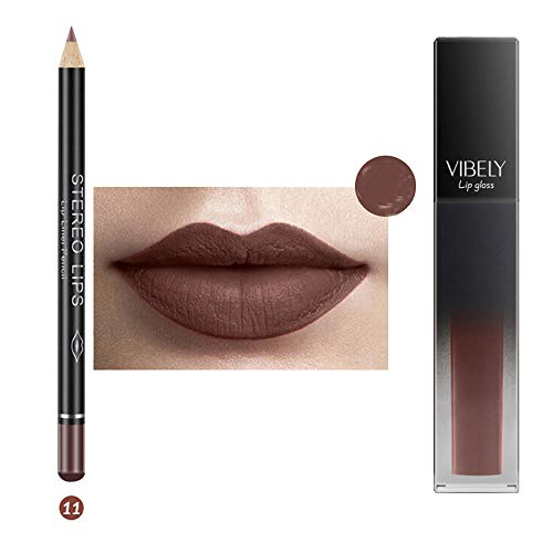 IFOUNDYOU Volle Reduktion Matte Liquid Lipstick Wasserdichtes Lipgloss Makeup 12 Shades