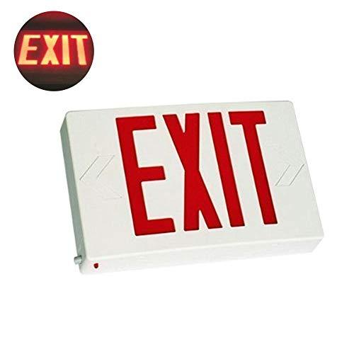 MKVERAYY LED Notbeleuchtung Notleuchte Orientierungslicht Exit Notausgang,Red -
