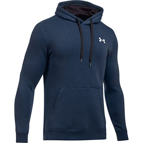 Under Armour Rival Fitted Pull Over Sudadera, Hombre, Azul (410), L