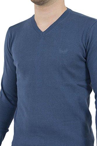Kaporal Tavele17m52, Pull Homme Bleu