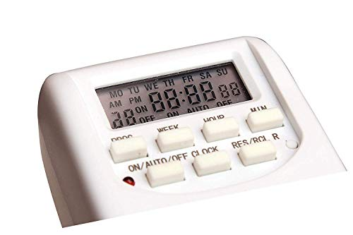 SiSAH 230V 24x7 Energy Saving Socket Type Digital Programmable Electronic Timer
