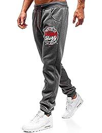 fee3c2b7a0f222 BOLF Pantaloni – Di tuta – Sportivi – Jogger – Motivo mimetico - Cerniera –  Da