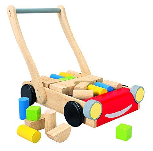 ASA Toys Jouet en bois - Jeu d'éveil - Chariot de Marche