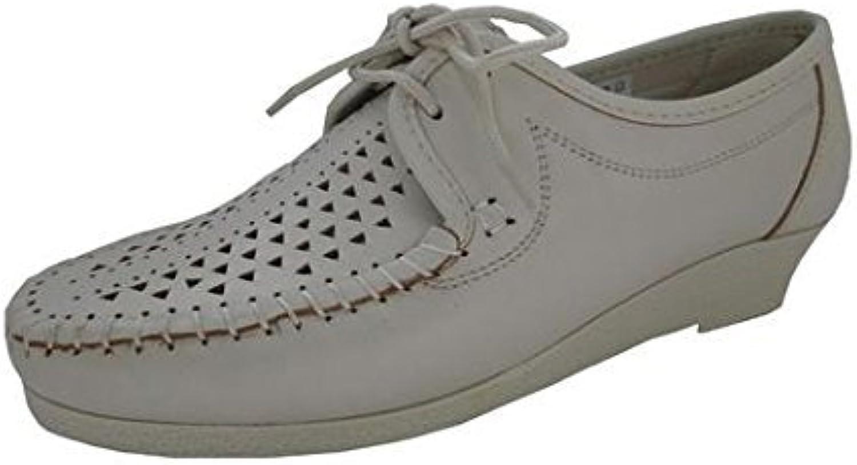 Leder rundherum Schuh MQ1155 Kiarflex Leder empfindliche Füße Tragekomfort