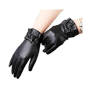 418GDNMVwoL. SS300  - XY Gloves Gloves Lady Cycling Thicken Autumn And Winter Keep Warm Touch Screen Driving Gloves Thin Section