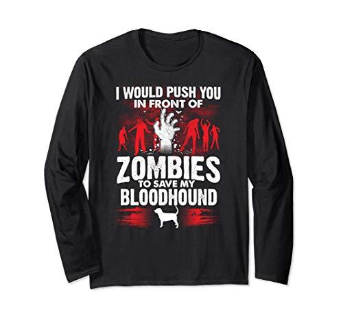 Schieben Sie vor Zombies Save Bloodhound Dog - Bloodhound Hunde Kostüm