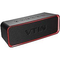 VTIN R2 - Altavoz Bluetooth Portátiles, con Sonido Extra Bass y Clásico, Botones Delicados y Diseño Ultraportatil, IPX6 Impermeable, Estéreo premium 10W Para Todos los lugares. ¡Recomendable!