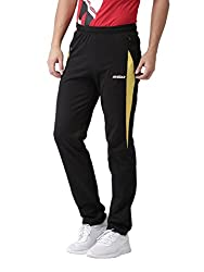 2Go Mens Cotton Sports Track Pant (El-Gjp001-A7Bold Blackxl, Bold Black, X-Large)