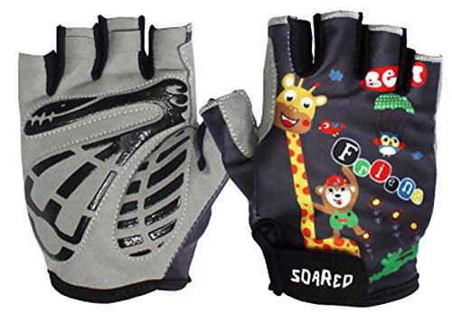 Auto Handschuhe Fahrrad Sport REIT halb Finger Kurze Finger schutzhandschuhe atmungsaktivem Komfort ()