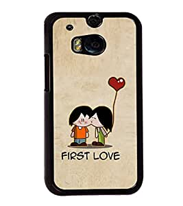 Fuson Designer Back Case Cover for HTC One M8 :: HTC M8 :: HTC One M8 Eye :: HTC One M8 Dual Sim :: HTC One M8s (Love Love Hearts Infactuation Togather In Relationship)