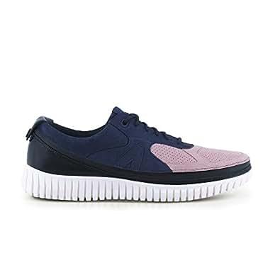 Stringa Sneakers E Suola Con Scarpa Acbc Blue Bianca Donna fIwxB