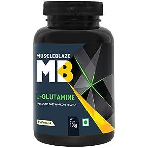 MuscleBlaze Micronized Glutamine - 100 g