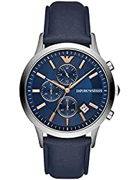 Emporio Armani Renato Analog Blue Dial Men's Watch-AR11216