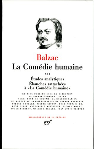 Balzac : La Comédie humaine, tome 12