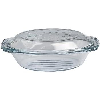 drop grill br ter auflaufform br ter mit deckel aus glas oval ofenfest 2 9 l neuware. Black Bedroom Furniture Sets. Home Design Ideas