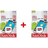 Sandisk 16GB Ultra Micro SD Memory Card Class 10 (Combo Of 2 Pcs)