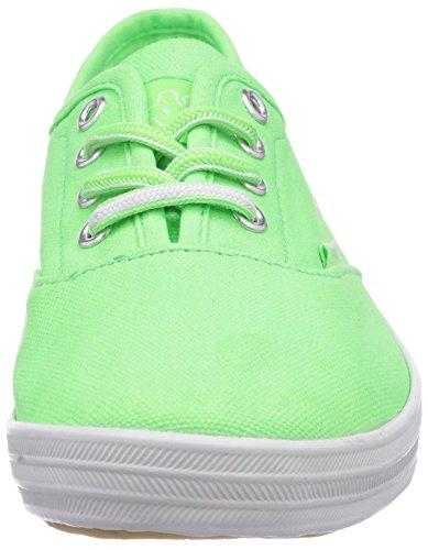 Kappa Holy Holy, Baskets mode mixte adulte Vert (3310 Lime/White)