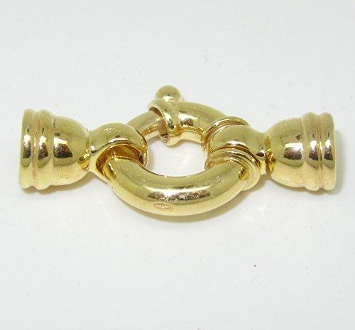 Penna anello chiusura{375} Gold per corde e perline catene 7 mm DIY di DIY Express GmbH
