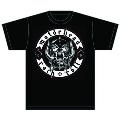 Motorhead Herren, T-Shirt, Biker Badge Schwarz - Schwarz