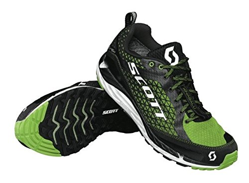 Scott Kinabalu T2 HS Trail Running Shoes Black/Green Mens UK 10