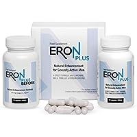 ✅ERON PLUS Premium Potenzmittel, Potenzhilfe, Erektionshilfe, Potenzpillen, Basispaket 2x60 Kapseln / 2x650 mg