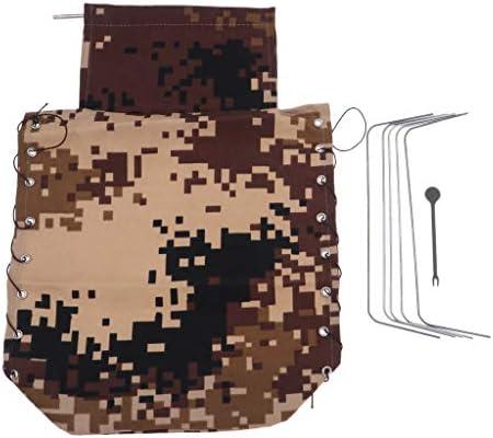 B Blesiya Couverture de Carrosserie en Toile Pièces Détachées Détachées Détachées pour Camion sur Chenille Militaire RC 1:16 WPL B16 | Léger  b3da66