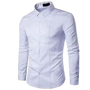 camicia bianca uomo Rosso Amazon.it