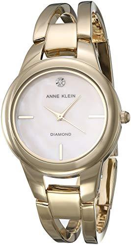 Anne Klein Classic Reloj de Mujer Cuarzo 32mm Correa de Acero AK/2710BMGB