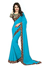 Kamela Saree Georgette Saree (Morla@Saree_Multi-Coloured)