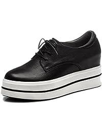 Chaussures à Plateformes Femme WSXY-A1405 Sneakers Basses femme de Running Gym Fitness Course ,KJJDE , black , 39