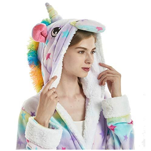 Bata Encapuchado, Unicornio Batas Baño