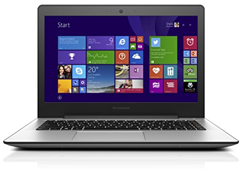 Lenovo U41-70 35,6 cm (14 Zoll Full HD Matt) Ultrabook (Intel Core i3-5005U, 2GHz, 4GB RAM, 500GB HDD, Intel HD Grafik, Windows 8.1) silber