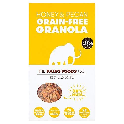 Paleo Lebensmittel Co Honig & Pecan Getreidefreie Müsli 340G