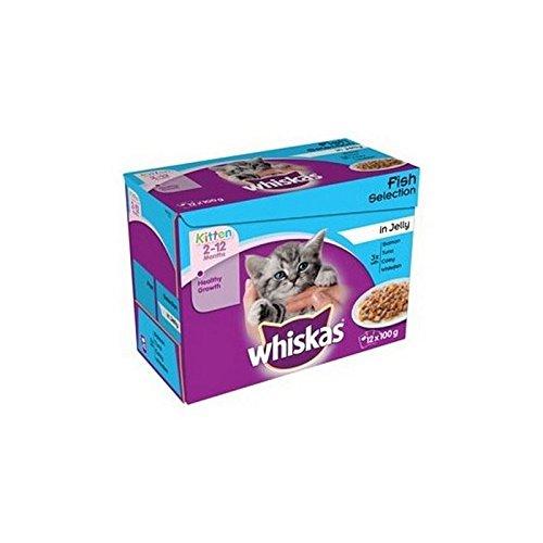 whiskas-2-12-mois-selection-chaton-sachets-alimentaires-de-poisson-en-gelee-12-x-100g-de-12-kg