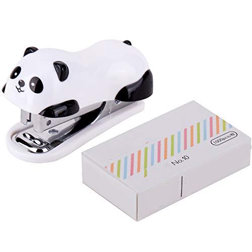 Ogquaton Panda linda mini grapadora linda historieta