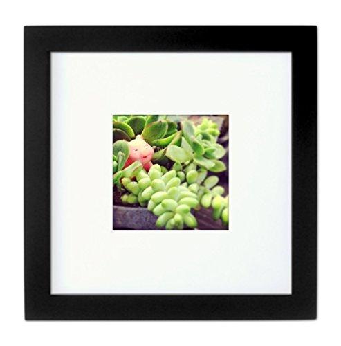 Rahmen Tiny Mighty Frames,994(8x 8), holz, Schwarz , 4x4, 4