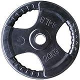 لوحة وزن مطاطية لصالة الالعاب الرياضية من سكاي لاند، EM-9264- 20 كغم