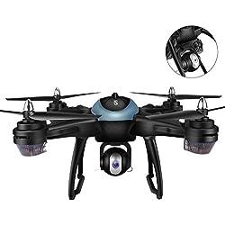 Drone Quadcopter Drone quadricoptère quadri-hélices pour GPS Position arrière intelligente 1080P Caméra de surveillance WiFi Télécommande drone