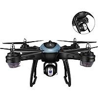gaeruite Telecomando Drone con batteria integrata, Posizionamento GPS Intelligente Ripresa 1080p Fotografia aerea Wifi Trasmissione RC Quadcopter Drone