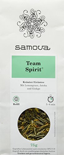 Samova Team Spirit Refill - Kräuter/Grüntee 75g, 1er Pack (1 x 75 g)