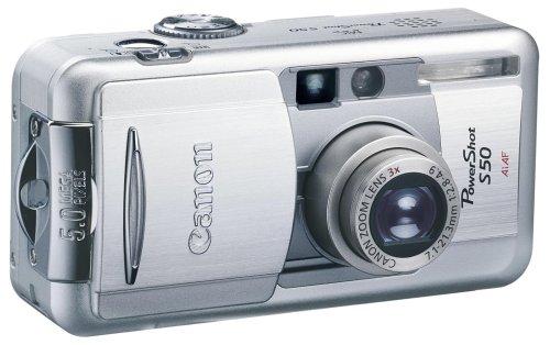 Canon Powershot S50 Digitalkamera (5,0 Megapixel)