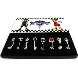 Kingdom Hearts II collier pendentif Keyblade de Sora Set 2 (JAPAN IMPORT)