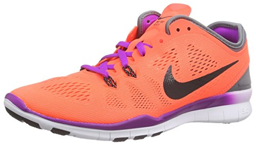 Nike Wmns Free 5.0 TR Fit 5 - Scarpe Running Donna, Multicolore (Red/Black), 38 EU