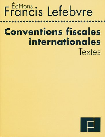 Conventions Fiscales Internationales