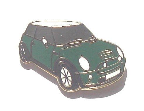 Mini NUOVA FORMA Motorcar Verde Smalto Spilla
