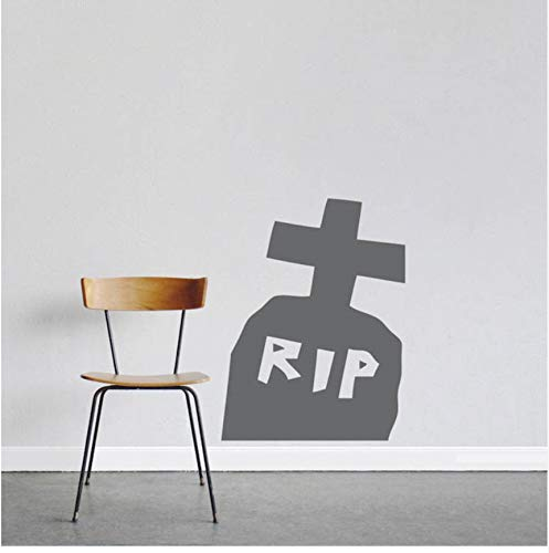 HalloweenWandaufkleberfenster Vinyl Home Decor Poster Interieur Modernes Design42X55 Cm ()