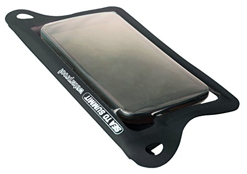 Sea to Summit Messer Sea to Summit TPU GUIDE WATERPROOF CASES, schwarz, Doppel Velcro Rolltopverschluss, Befestigungsösen, 561622 -