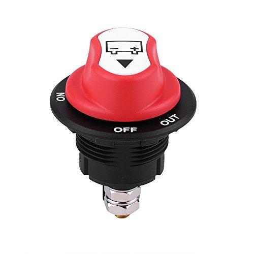 Qiilu QL04273 Max 32V 100A CONT 150A INT Interruttore di Isolamento della Batteria per Auto/Fuori Strada/Camion