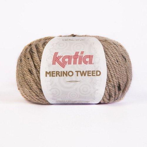 Katia Merino Tweed - Farbe: Beige (301) - 50 g / ca. 80 m Wolle -